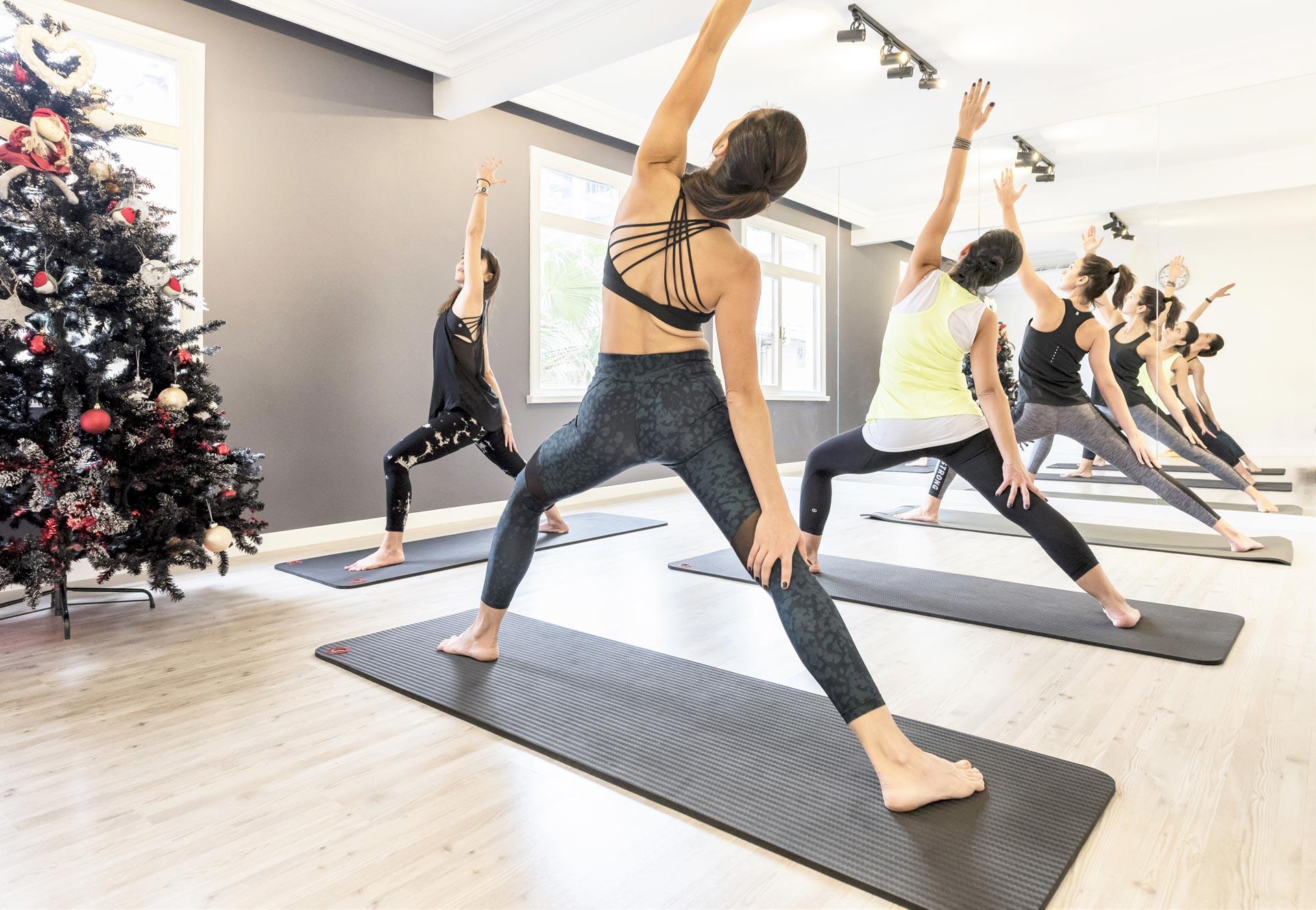 Flowpilates Yoga Dersi